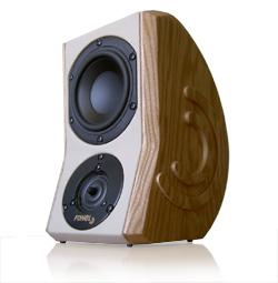 Kompakt -Lautsprecher-System  Fonel `La Viva!`  neues Design, neue technische Lösungen - 0
